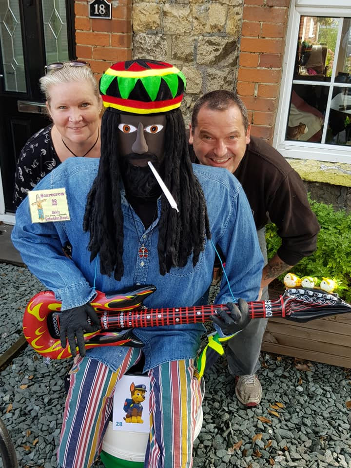 Mr & Mrs Shed with Bob