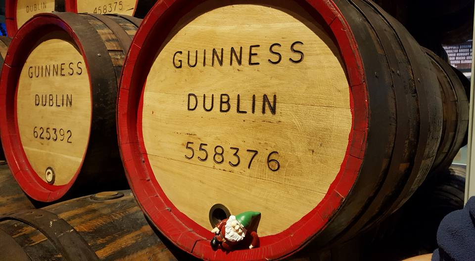 Dublin - Guinness Storehouse - with Gord & Sam