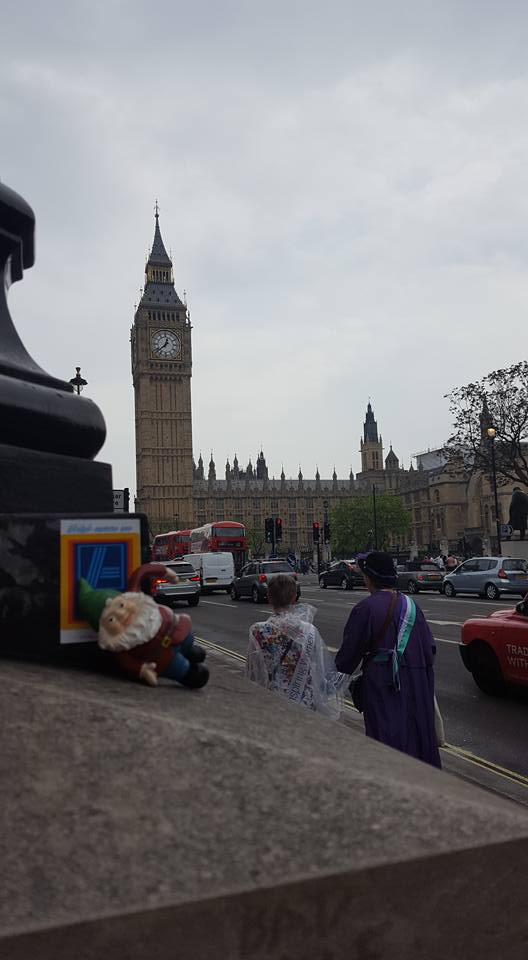 London First Visit - Big Ben Little Gnome