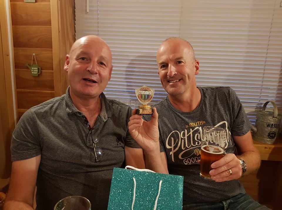 Winners - Andy & Chris