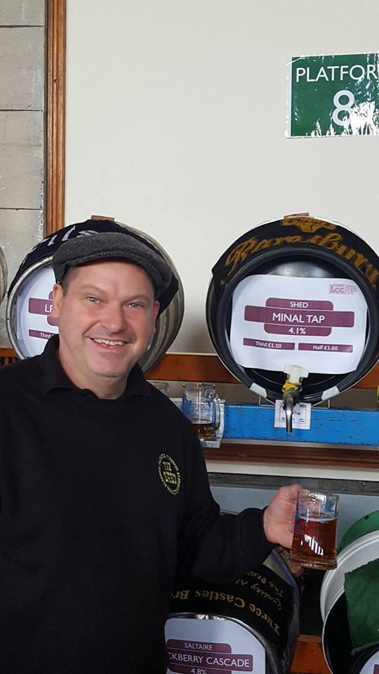 Gordon & his beer - Awarded Beer of the Festival