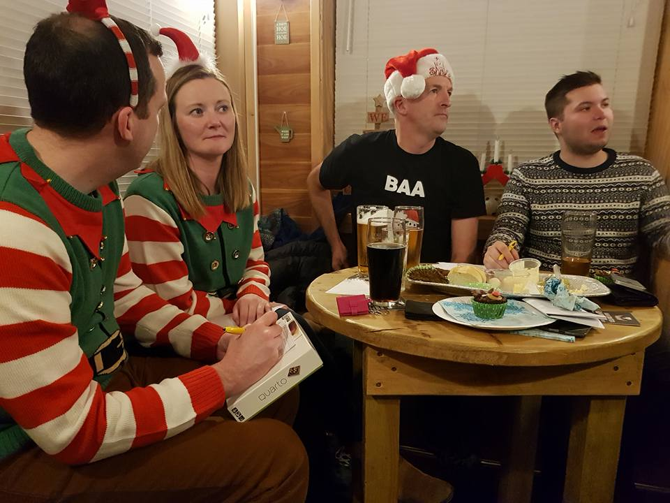 Santa's Little Helpers and Gezers of Nazarath in deep thought