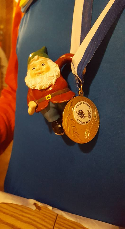Gnomad won a medal