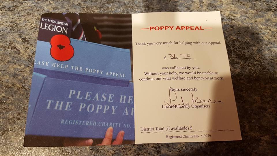 Poppy Appeal 2015