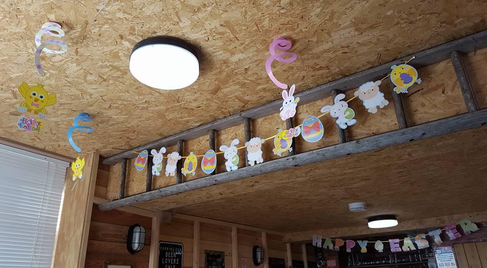 Easter Ladder
