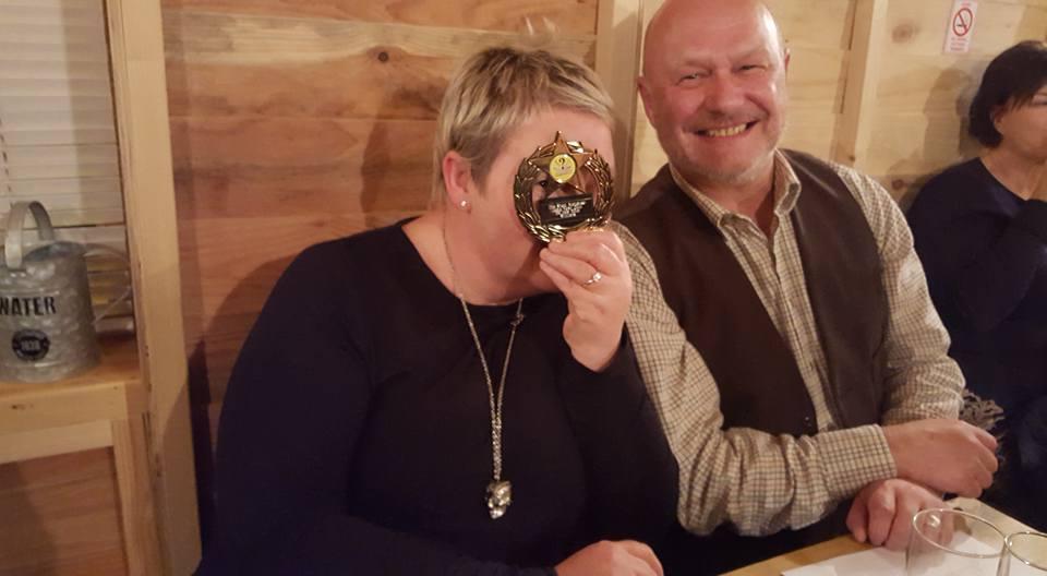 Leap Year Winners Sue & Ian