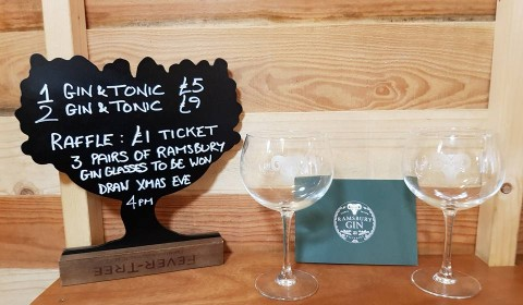 Raffle Prize - 3 Pairs of Ramsbury Gin Glasses