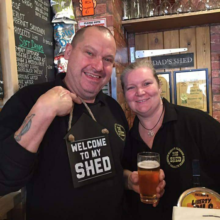 Happy New Year from Mr & Mrs Shed
