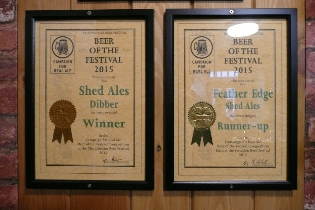 Shed Ales Awards