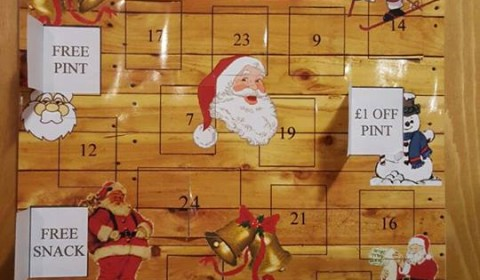 Advent Calendar Shed Style