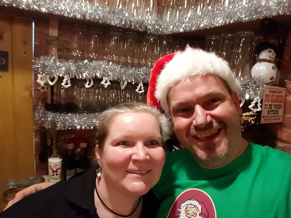 Mr & Mrs Xmas Shed