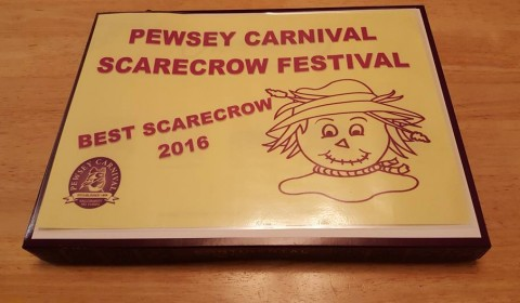 Yay - Eddie was Joint Best Scarecrow