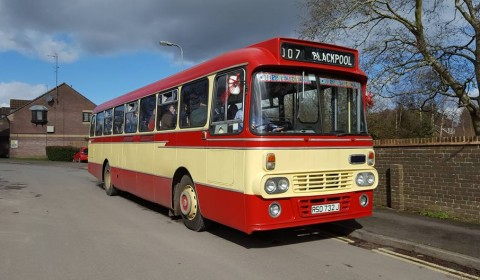 All aboard, Leyland Leopard 1971 bus