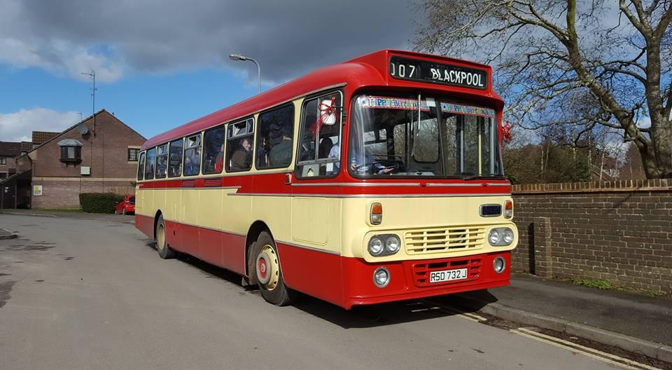 All aboard, Leyland Leopard 1971 bus