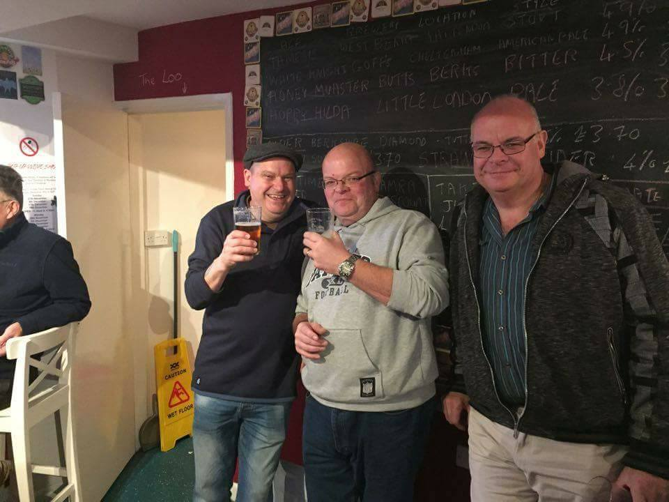 Cow & Cask - Mr Shed, Iain and Duncan