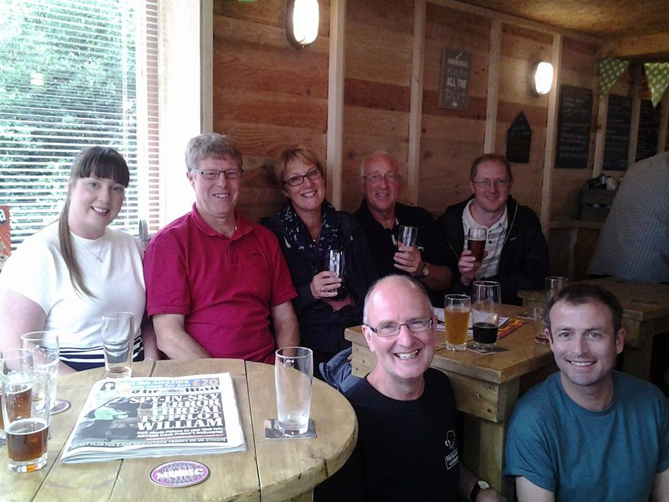 Northampton CAMRA Lovley bunch. Cheers